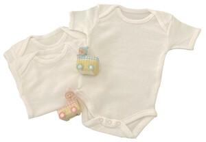 Bodies bébé mixte manches courtes