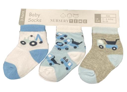 Chaussettes bébé garçon