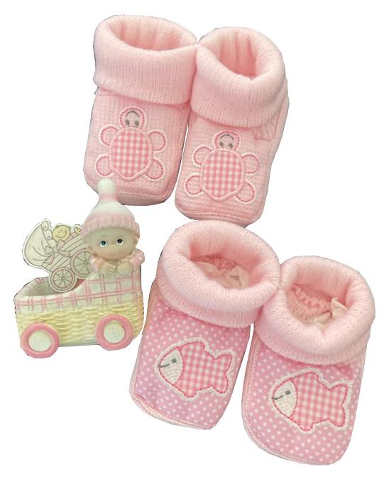 Chaussons bébé fille