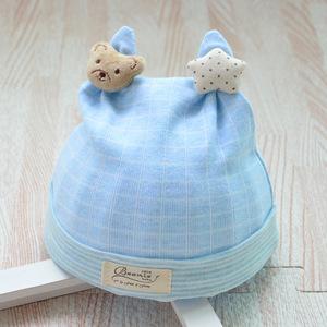 Bonnet étoile bleu